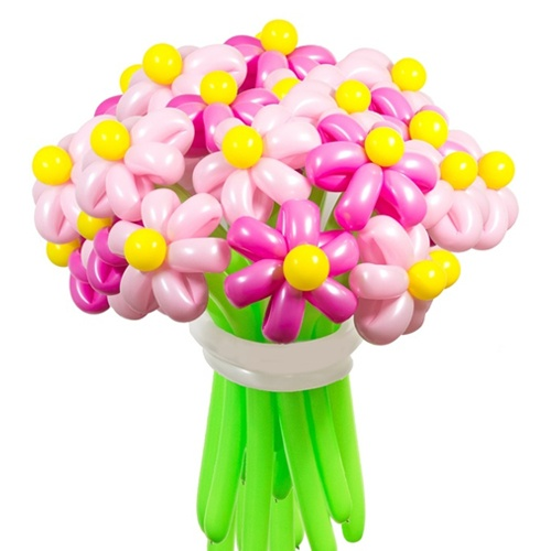 Букет цветов из шариков в Воронеже